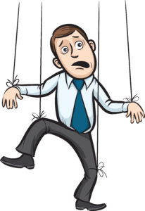 EMDR Therapy helps cut the strings of the past that control us like a marionette puppet